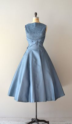 1950s dress / vintage 50s dress / Dream Beyond Time by DearGolden, $248.00--So gorgeous!
