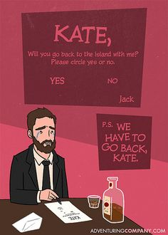 LOST Valentine Cards. Jack <3