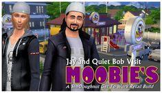 Moobie's Fast Food Restaurant at SimDoughnut via Sims 4 Updates