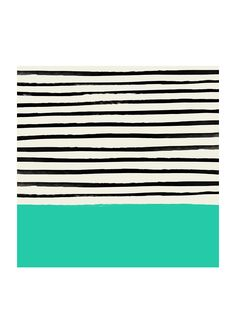 East End Prints - Mint Stripes, £19.95 (http://www.eastendprints.co.uk/products/mint-stripes.html)