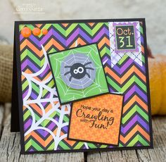 Doodlebug Halloween Parade and spider web file from Lori Whitlock @Doodlebug Design Inc