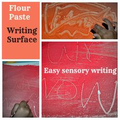It's great to write on a paper with a pen and all. Everyone once in a while when the interest to write/mark make wanes it is simple to bring back the lost zeal with a fun new writing surface. We h...