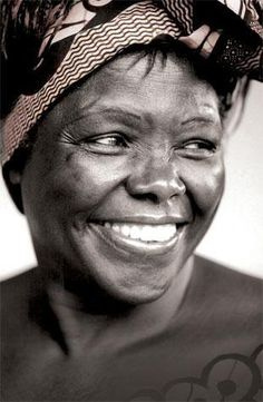 Wangari Maathai - Nobel Peace prize winner and Kenyan environmental & political activist