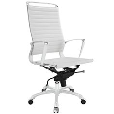 Tempo Highback Office Chair - White