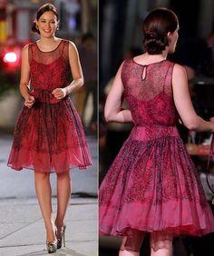 Leighton Meester Gossip Girl Fashion | Blake Lively and Leighton Meester on location for 'Gossip Girl' in NYC