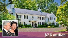 This 1930s estate in Bedford, N.Y., was just sold by Catherine Zeta-Jones and Michael Douglas for $7.5 million. (They bought a larger property nearby.) It has a gym, a greenhouse and a pool and spa.