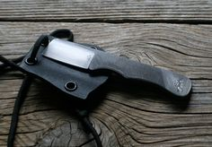 A great little EDC slicer. Good for people who want function w/o a pointy blade, or just love all things cleaver like me.   Custom EDC Mini Cleaver Upcycled File Neck by JaredKramerStudios