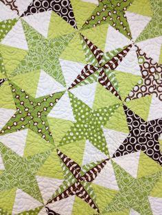 Farm Gal Designs: My Quilt Bucket List.  Kaleidoscope.  'Starry Night'