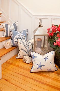 - Cape Cod Cottage Steps - Coastal Pillows | Beach Pillows