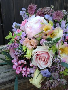 Bridesmaid's posy by Rose Cottage Flowers