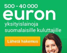 PARASLAINA.FI | Täytä 1 Lainahakemus, Saat 16 Tarjousta: Valitse Halvin 500 – 40 000€:n Laina!