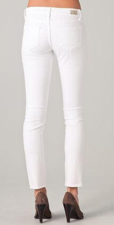 Paige Skyline Skinny Jeans....white jeans from my favorite jeans brand!
