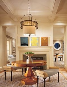 Architectural Digest, entrance hall