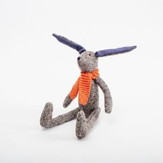 Tipperary Hare Irish Design, March Hare, Bright Eyes, Little Ones, Hand Knitting, Tweed, Ireland, Play, Handmade