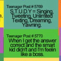 Funny+Teenager+Posts | Funny Teenage Posts! | made by young people at Makewaves