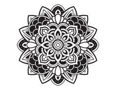 Wall Decal Mandala Vinyl Sticker Decals Lotus Flower Home Decor Boho Bohemian Bedroom Ornament Moroccan Pattern Namaste Yoga Studio Mandala Flower Tattoos, Flower Mandala, Lotus Mandala, Mandala Art, Lotus Flower, Elbow Tattoos, Wolf Tattoos, New Tattoos, Mandala Coloring Pages