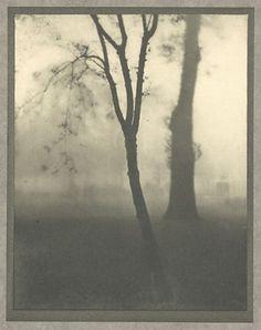 Alvin Langdon Coburn: Kensington Gardens, 1909. Photogravure,