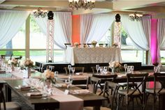 Brookside Golf Course Ballroom #brooksidegolfcourse http://www.countryclubreceptions.com/wedding-venue/brookside-golf-club