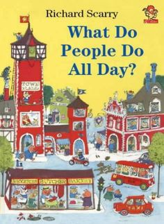 Richard Scarry - My brother and I had all his books.  I read them over and over and over.