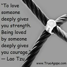 We have strength and courage together.