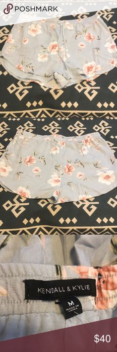 NWT Kendall and Kylie floral flowy shorts NWT floral shorts with lining underneath Kendall & Kylie Shorts