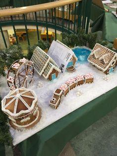 pepparkaksbygge peparkakskarusell Gingerbread