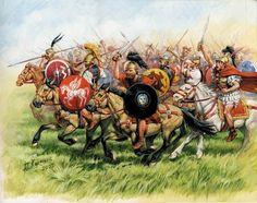 Republican Roman Cavalry 3rd-1st Century BC by Zvezda Models, art by Giuseppi Rava