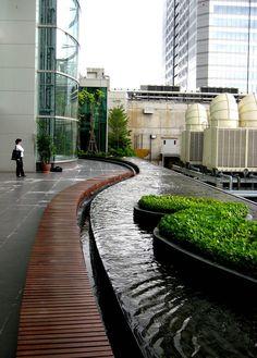曼谷中央世界商业中心禅宗花园