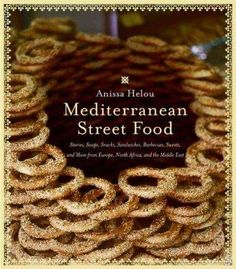 Mediterranean Street Food by Anissa Helou; this book travels through Greece,Turkey, the Middle East, North Africa, and a bit of Italy. All the recipes are authentic and comforting and unbelievably good. Moroccan Bread, Tabbouleh Recipe, Chickpea Fritters, Middle East Food, Semolina Cake, Easy Salads, Cooking Light, Mediterranean Recipes, North Africa