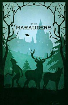 Four marauders Harry Potter