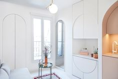 This 118-Square-Foot Paris Apartment Is Part Home, Part Transformer Toy