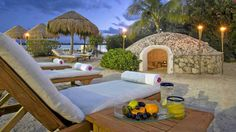 """A Temazcal sweat lodge at Westin Resort and Spa in Cancun, Mexico. - Click for an article from """"a sweat-lodge virgin."""""""