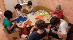 Piccoli lavoretti e laboratori di cucito nella #BottegadellaFantasia #family #vacanzafamilytrentino #familyfun