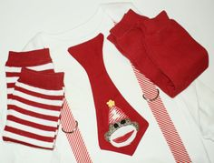Custom  Sock Monkey Birthday Tie T Shirt With Suspenders and Leg Warmers Sizes  0-3 mo, 3-6 mo, 6-12 mo, 18 mo, 24mo, 2t, 3t, 4t, 5/6. $24.00, via Etsy.