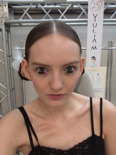 Dior Backstage beauty look