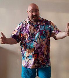 89d3b3d85fc Pinup famous shirtstorm comet landing shirt. www.ellyprizeman.com