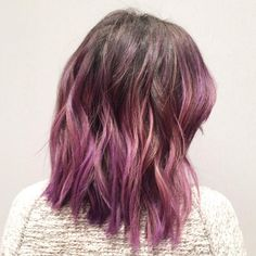 """Cherin Choi on Instagram: """"A colorful natural ombré for this brunette #hair…"""