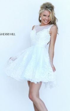 Embellished Open Back Gown by Sherri Hill 50311