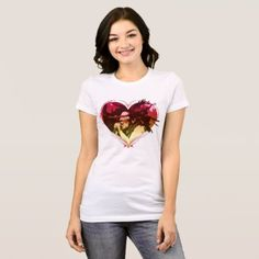 Bob Marley Heart Love Reggae T-Shirt - birthday gifts party celebration custom gift ideas diy