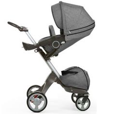 The Stokke Xplory Stroller encourages eye-to-eye contact and feelings of safety during infancy, and converts to front-facing as your baby becomes ready to look out and explore the world. Near infinite comfort options meet your needs as your baby grows. Cot Sets, Thing 1, Baby Store, Baby Grows, Baby Gear, Deep Blue, Dark Navy, Baby Items, Baby Strollers