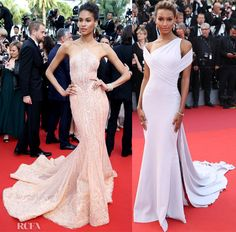 Cindy Bruna in Geoges Hobeika Couture - 'The Beguiled' Cannes Film Festival Premiere