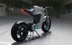 The BOLT concept motorbike is a beautiful combination of the polished and sophisticated features of naked-style sports tourers and the streetfighter stance of supersports.