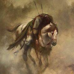 Art by Hassan Rouh Karbala Battle Al Taif