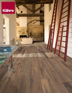 Dramatic Pause - Create breathtaking interiors with Oak Concrete from the Kährs Artisan Collection