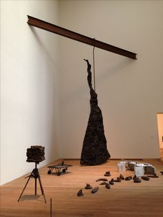 Joseph Beuys   ((*everday unnervings black in room of mind)