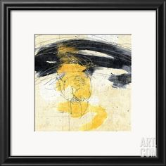 Zen in Yellow II Framed Art Print at eu.art.com