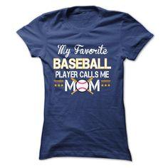 My favorite BASEBALL player calls me mom