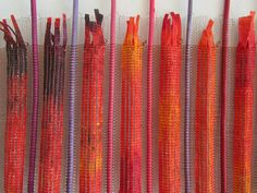 Anneke Kersten: Colours, landscapes and geometric forms (weaving)