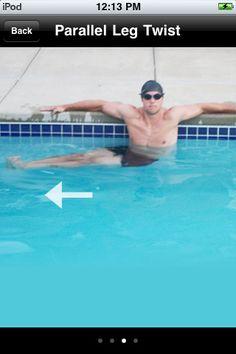 Water Aerobics Fun Exercises In The Pool Pool Workout Water Aerobics Workout Fun Workouts