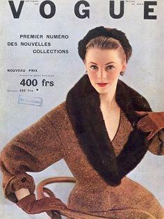 Christian Dior, French Vogue 1952